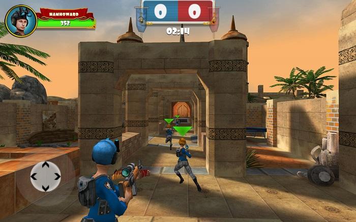 Bắn súng cướp cờ chớp nhoáng với Sniper Clash 3D
