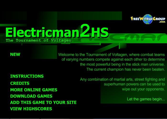 Review Game Y8 – Electricman 2 HS – 2play – 2 người chơi – Người que điện