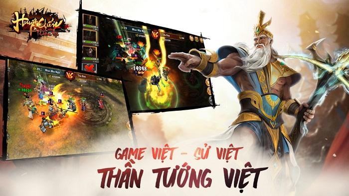 Huyết chiến thiên hạ – Game Việt tung hoành thế giới ảo