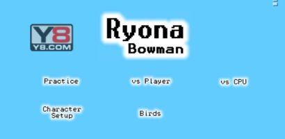 Review Game Y8 – Ryona Bowman – 2play – 2 người chơi – Xạ thủ Ryona