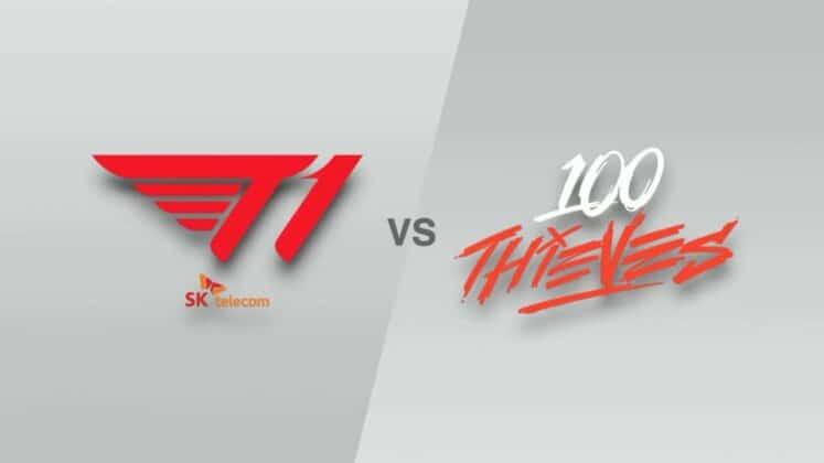 T1 loại bỏ 100 Thieves khỏi cuộc đua đến chức vô địch CKTG 2021